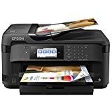Epson WorkForce Color Inkjet Printer with Copy, Scan, Fax, Wi-Fi and Ethernet, Black