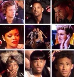 celebs' reaction to Miley Cyrus at the VMA's...