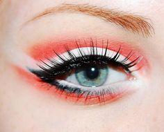 hean colour stay on nr.574 - Eyeshadow by BELLA, hean colour stay on nr.558 - Eyeshadow by BELLA, fake - Eyelashes, i <3 stage - Base by ESSENCE, falsies volum' express (waterproof) - Mascara by MAYBELLINE, black liquid - Liner
