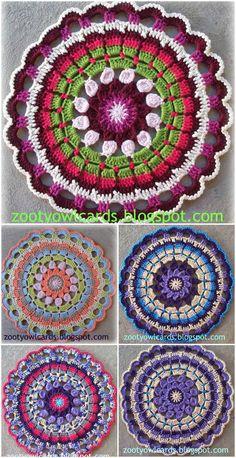 60+ Free Crochet Mandala Patterns - Page 8 of 12 - DIY & Crafts
