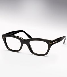 """The TF 5178 eyeglass is a classic chunky 1960's style piece, modeled closely after the pair of eyeglasses worn by Colin Firth's character in the Tom Ford film """"A Single Man""""."""