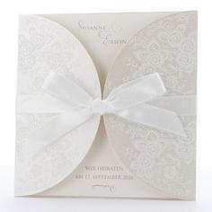 Romantische Hochzeitseinladung - Karte Nr. 724005