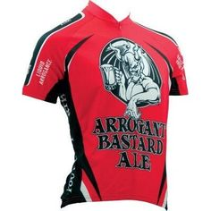 Canari Cyclewear Men s Arrogant Bastard Ale Short Sleeve Cycling Jersey -  Plus Size - 1272P a0ece0ca1