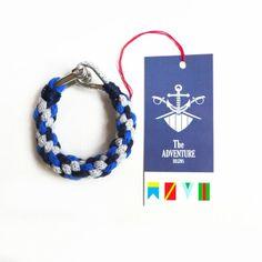 bransoletka w żeglarskim klimacie (proj. The ADVENTURE Begins), do kupienia w DecoBazaar.com