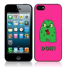 IPhone 5 Glossy Image Back Cover - Doh Monster