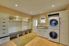 Laundry/mud room for the addition!!