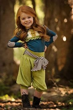 Persnickety Clothing - Lou Lou Top - Navy - Mossy Woods - One Good Thread Beautiful Children, Beautiful Babies, Beautiful Women, Cute Kids, Cute Babies, Persnickety Clothing, Ginger Babies, Thanksgiving Outfit, Redheads