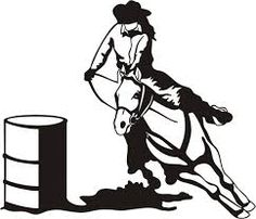 barrel racer logo google search art painting pinterest rh pinterest com  barrel racing logo pictures