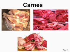 Vocabulario en imágenes. Maestra de Infantil y Primaria.: Alimentos