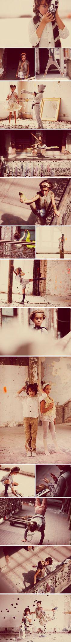 Awesome Photoshoot!    (Children's Editorial Fashion Shoot – La Petite Peach)