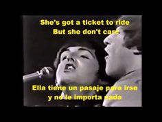 Ticket To Ride - Subtitulada en Español e Ingles - YouTube