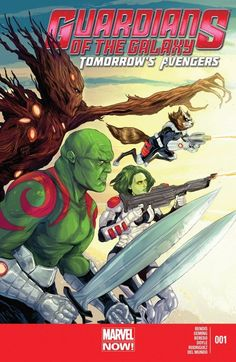 Guardians of the Galaxy: Tomorrow's Avengers #1 #Marvel #GuardiansOfTheGalaxy #TomorrowsAvengers (Cover Artist: Ming Doyle) On Sale: 7/3/2013