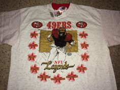 76dc38936c4 Items similar to Sale!! Vintage San Francisco 49ers Shirt NFL Legends  football jersey Made in USA on Etsy