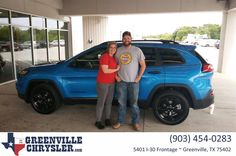 Greenville Chrysler Jeep Dodge Ram Customer Review  I BOUGHT A 2017 JEEP CHEROKEE, MY SALES MAN WAS JOSH HAIVALA. HE WAS VERY HELPFUL WITH GETTING THE PERFECT CAR FOR ME AND MY FAMILY. I'D RECOMMEND HIM TO ANYONE.   Shawnee, https://deliverymaxx.com/DealerReviews.aspx?DealerCode=J122&ReviewId=60031  #Review #DeliveryMAXX #GreenvilleChryslerJeepDodgeRam