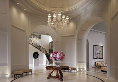 Interiors by Anne Carson Interiors and furnished by Ralph Lauren Home
