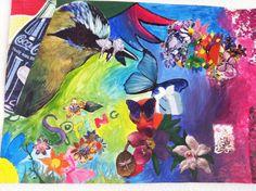 Spring moodboard/painting by Isaputs.deviantart.com on @DeviantArt