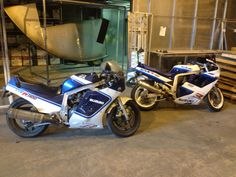 My two gsxr 1100's