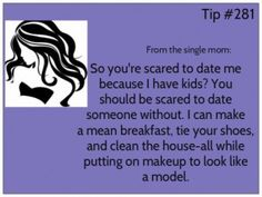 dating a single mom rules for maid