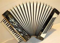 RARE German Piano Accordion Contasina 80 bass. 5 by Harmony4Life, $295.00