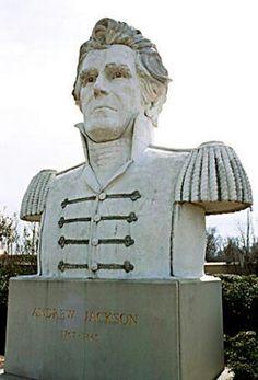 Andrew Jackson Monument State Capitol Nashville