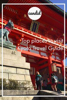 How to get to Fushimi Inari Taisha Shrine Kyoto Japan Navigation map vermillion torii gates Kyoto Travel Guide, Travel Tips, Fushimi Inari Taisha, Top Place, Kyoto Japan, Japan Travel, Candid, Places To Visit, Neon Signs