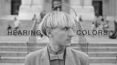 Artist Neil Harbisson is completely colorblind, so he sees in black and white. But he still perceives color. Harbisson has an implant in the back of his head that's essentially an antenna with a color sensor attached. The sensor signals are transposed to audio and he listens through bone conduction.