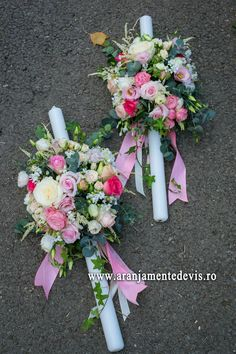 Lumanari cununie model clasic Floral Wreath, Wreaths, Model, Decor, Baptisms, Party, Floral Crown, Decoration, Door Wreaths