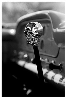 Hot Rod Skull, victor has this in his car