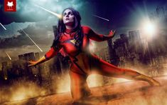 Spiderwoman by Vicky-Vic. Photo by Steamkittens