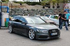 Audi A4 B8 Avant facelift # Bentley wheels