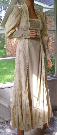 Gunne Sax Dress Black Label in Renaissance Style by artemis53, $125.00