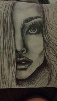 Fashion illustration sketch