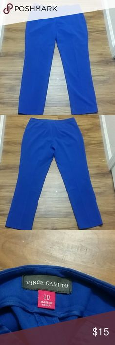 Vince Camuto dress pants Vince Camuto dress pants. Size 10. These are in great condition, straight leg. Vince Camuto Pants Straight Leg