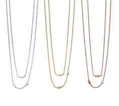 We know the secret to a statement in stylishly simple necklaces and jewelry.