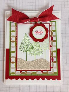 Craftin with HappiLeaStamppin: Case Day Card #3 using Stampin Up products including the Warmth & Wonder Stamp set