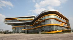 curved double skin facade - Google Search