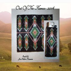 Check out our peyote lighter cover patterns selection for the very best in unique or custom, handmade pieces from our shops. Seed Bead Patterns, Beading Patterns, Bead Studio, Lighter Case, Nativity Crafts, Native Beadwork, Beading Techniques, Peyote Beading, Light Covers