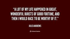 15 Quotes That Prove It, Julie Andrews Is Secretly The Ultimate Badass -- womendotcom