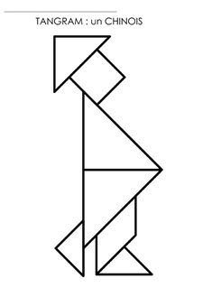 tangram coloring pages - photo#30