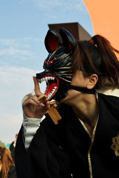 Everyday SMILE:太宰府まほろば衆さんと合同練習☆ Japanese Fox Mask, Kitsune Mask, Japanese Festival, Japan Photo, Japan Fashion, Fashion Art, Japan Art, Japanese Culture, All About Japan