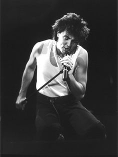 My American Dream Sounds Like:  Paul Young onstage in London, 1983.