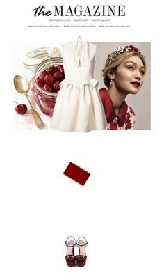 """Cherry Wine"" by milkandabsinth ❤ liked on Polyvore"