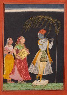 Lahula Ragaputra, Son of Dipak Raga, Folio from a Ragamala (Garland of Melodies)   LACMA Collections