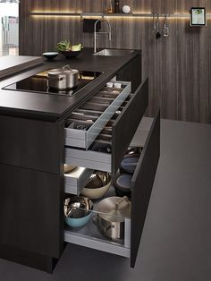 Fantastic modern kitchen room are available on our web pages. Read more and you wont be sorry you did. Kitchen Pantry Design, Luxury Kitchen Design, Contemporary Kitchen Design, Home Decor Kitchen, Interior Design Kitchen, Home Kitchens, Kitchen Ideas, Kitchen Inspiration, Kitchen Organization