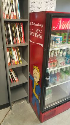Bought a beat up Coke cooler and made it a beat up Fallout cooler. - Album on Imgur