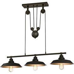 farmhouse kitchen island lighting ideas - Google Search