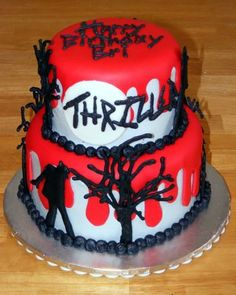 Michael Jackson Thriller Cake Photo by Mom24Girls | Photobucket
