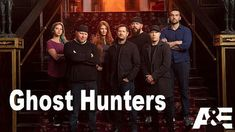 "Paranormales im TV  TV-Show ""Ghost Hunters 2019"" Squad, Ghost Hunters, Season 12, New Shows, Paranormal, Ideas, Ghosts, Layering, Manga"