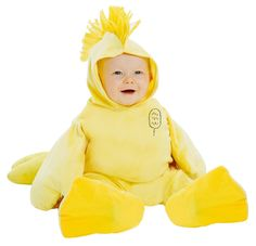 Peanuts: Plush Woodstock Jumpsuit Costume for Toddlers from Buycostumes.com