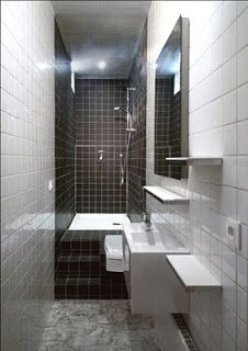 1000 images about salle de bains on pinterest small shower bathroom bathroom and belle for Petite salle de bain design noir